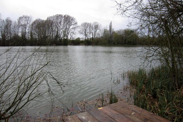 Fishing lake near Henlow