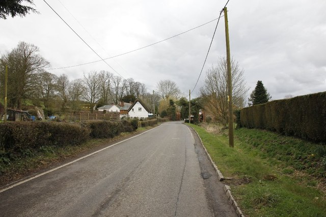 Towards King's Somborne