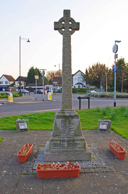 bisley war memorial  bisley  surrey  u00a9 p l chadwick    geograph britain and ireland