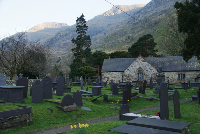 Church of St Peris, Nant Peris
