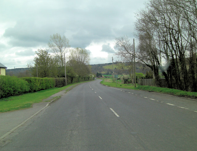 A40 southwest of Aston Rowant