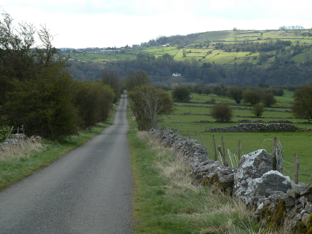 Looking down Leys Lane