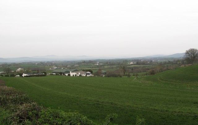 Rural settlement along Ballyroney Road