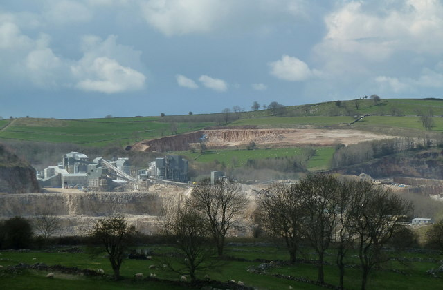 View to Grange Mill Quarry