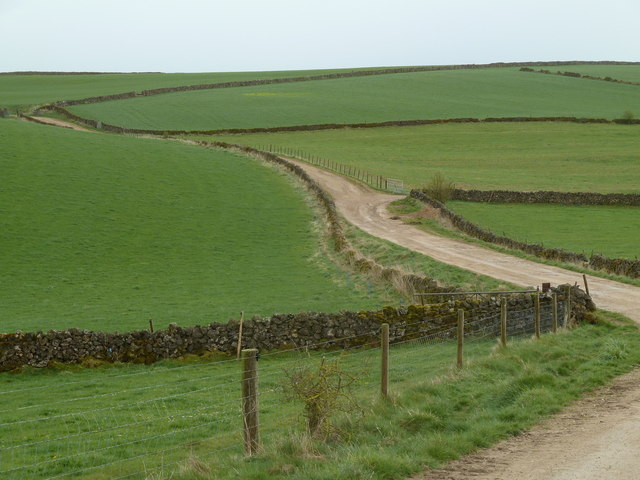 Green fields of Griffe Grange