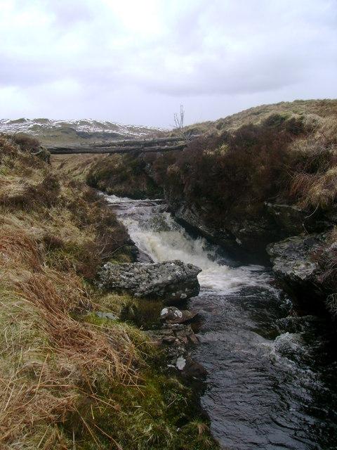 Footbridge over Eas Eonan