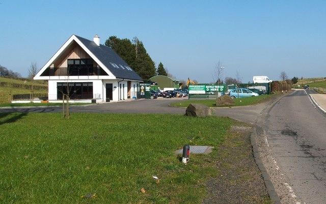 Car recycling centre