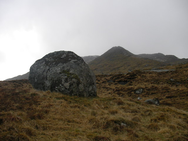 Boulder on Moorland