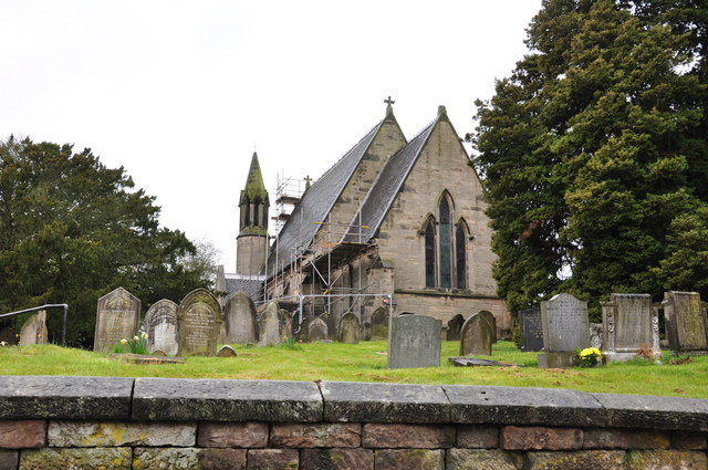 St Michael's and All Angels in Stramshall under restoration