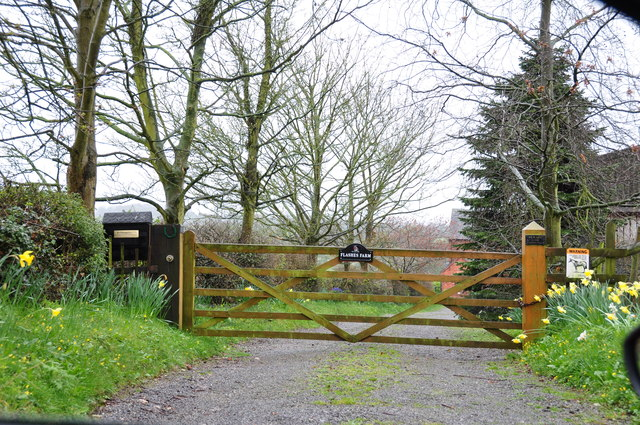 Gateway to Flashes Farm, Stramshall