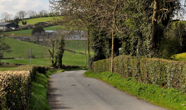 The Cahard Road near Saintfield (3)