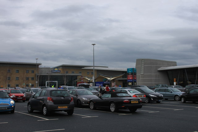 Wetherby Services on a wet Easter Monday 2012