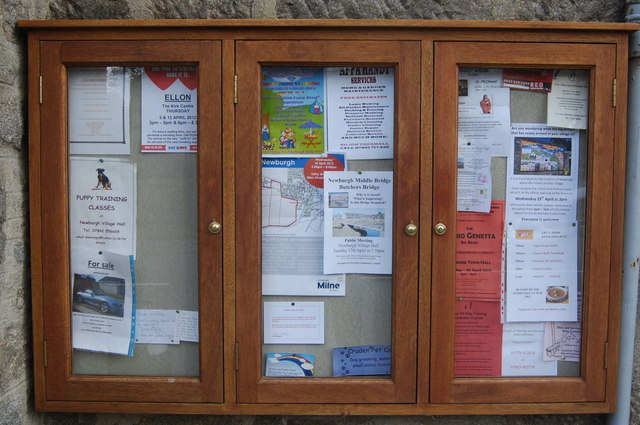 Community Noticeboard, Newburgh