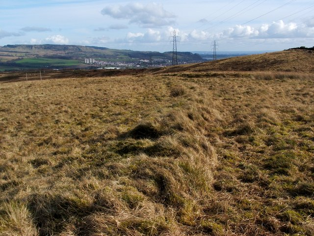 Old boundary on Carman Muir