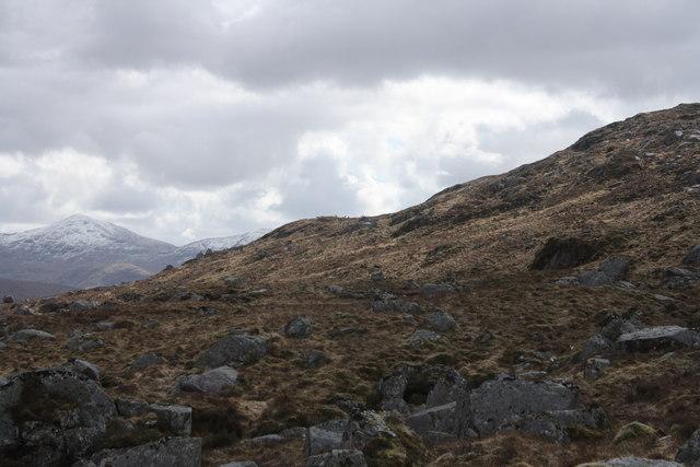Moorland above Allt Easach