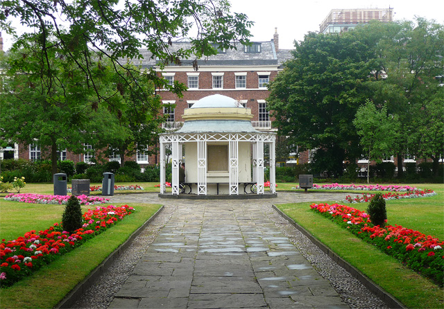 Garden house, Abercromby Square, Liverpool