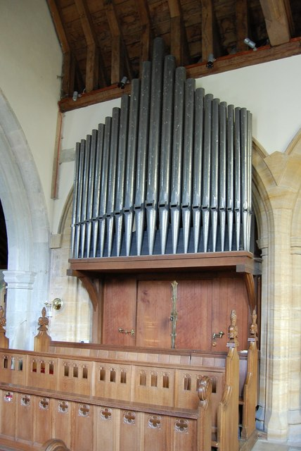 Organ, St Peter's church, Firle