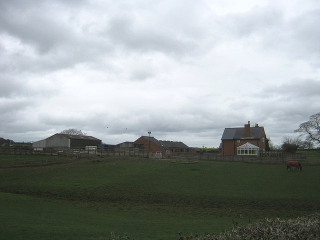 Council House Farm west of Ingleton
