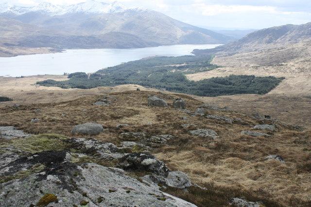 South ridge of Beinn Bheag