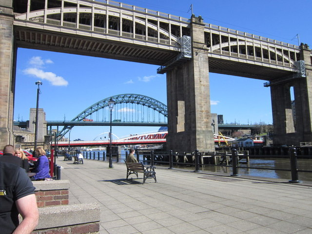 The view from the Quayside public house