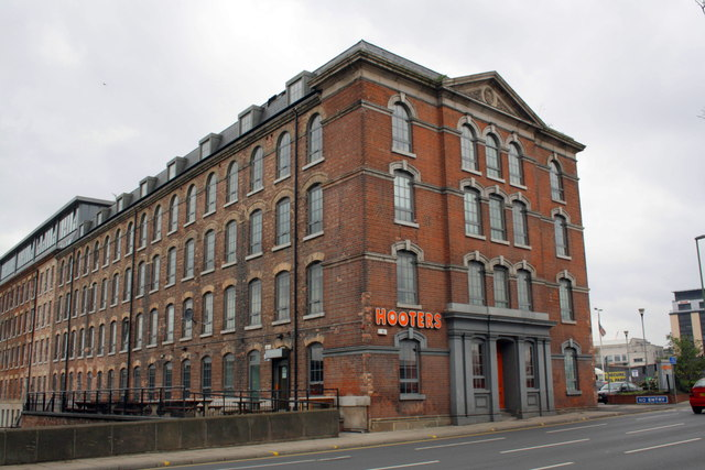 Hooters Nottingham Hicking Building London Road Nottingham Ng As