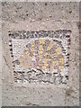 SK3973 : Hedgehog mosaic at Brimington Wharf by Martin Speck