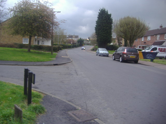 Tysea Road at the corner of Wharley Hook