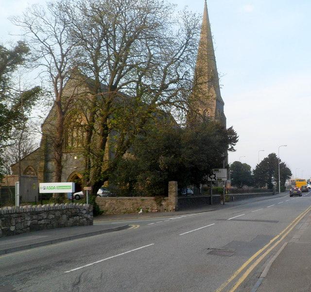 NE end of Bangor Street, Caernarfon