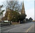 SH4863 : NE end of Bangor Street, Caernarfon  by Jaggery
