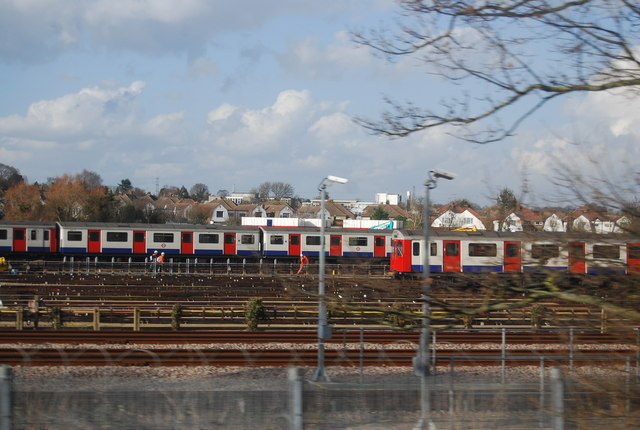 District Line sidings, Upminster