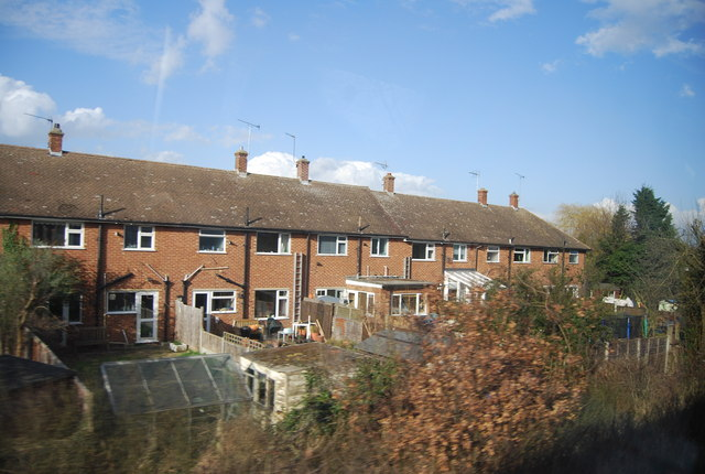 Trackside houses, Cranham