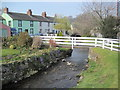 NY3239 : Gill Beck in Caldbeck by Les Hull