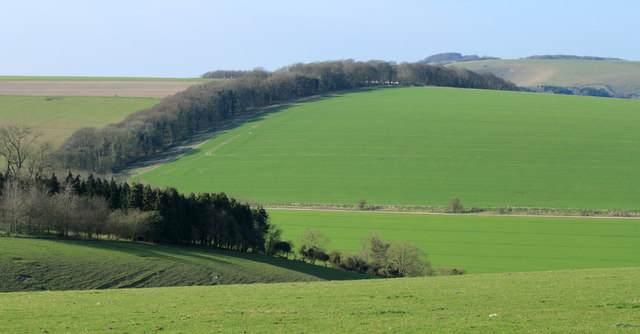 2012 : West of north from the B3095 near Dee Barn