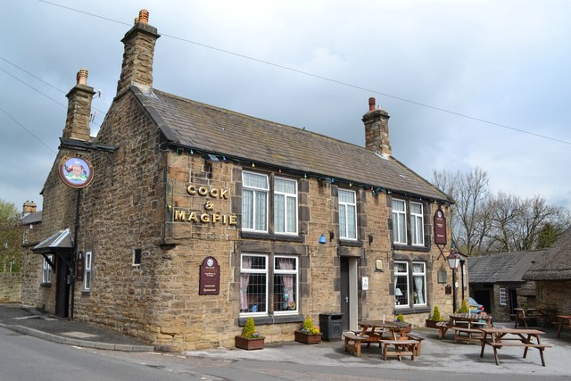 """The Cock and Magpie"", Old Whittington"