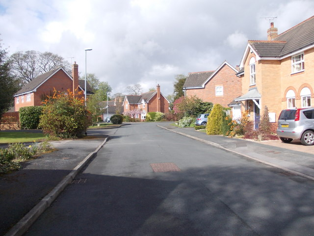 Sadler Way - looking towards Church Lane