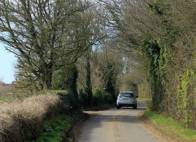 2012 : Stowey Road heading west toward White Cross