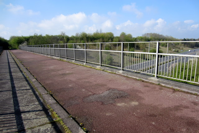 Footpath over the A5