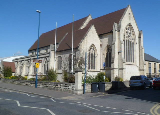 Grade II listed former All Saints Church, Gloucester
