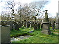 SD8102 : St Paul's Church, Kersal, Graveyard by Alexander P Kapp