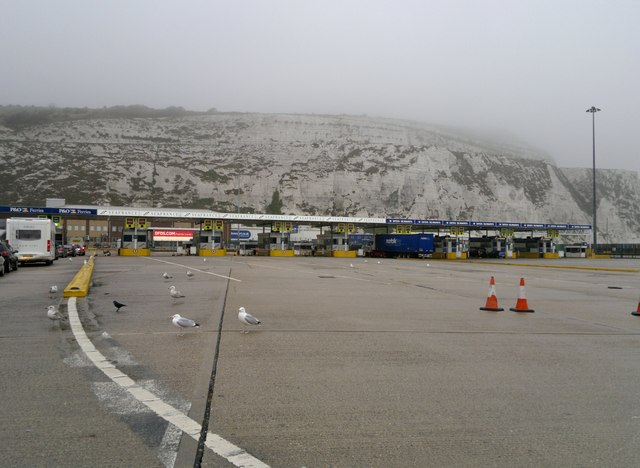 Dismal Dover check-in lines