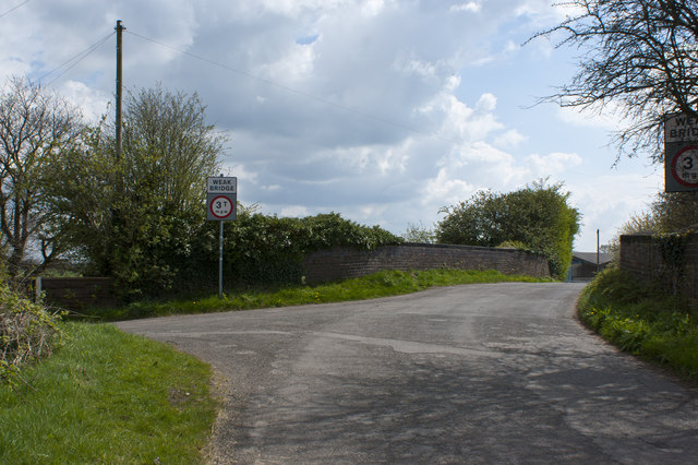 The railway bridge on Dam Lane