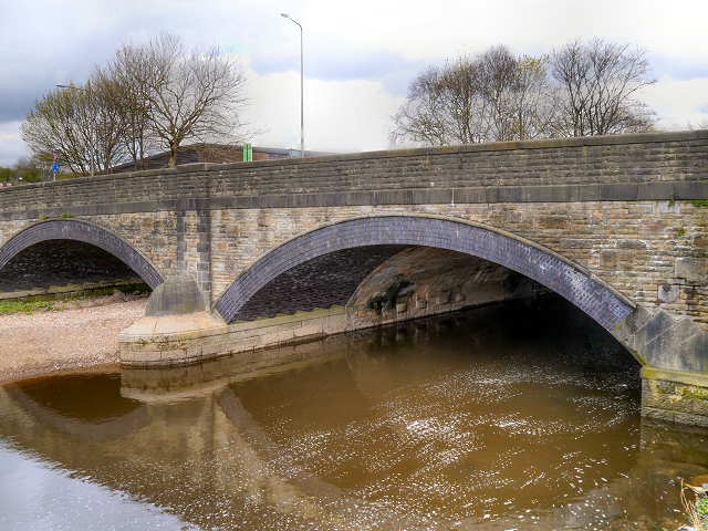 Padiham Bridge, River Calder