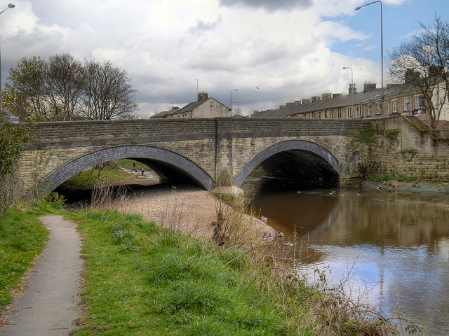 River Calder, Padiham Bridge