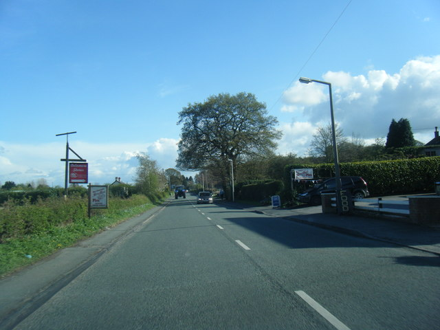 Station Road at Delamere Stores