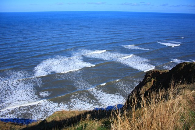 Breakers off Hunt Cliff