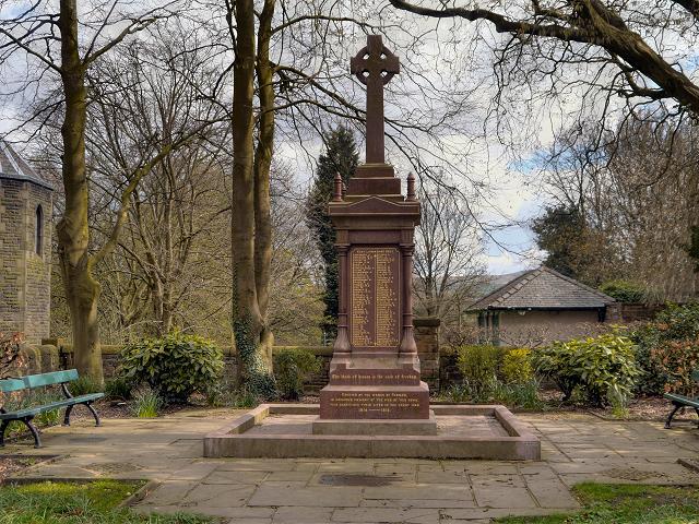 War Memorial, Padiham Memorial Park