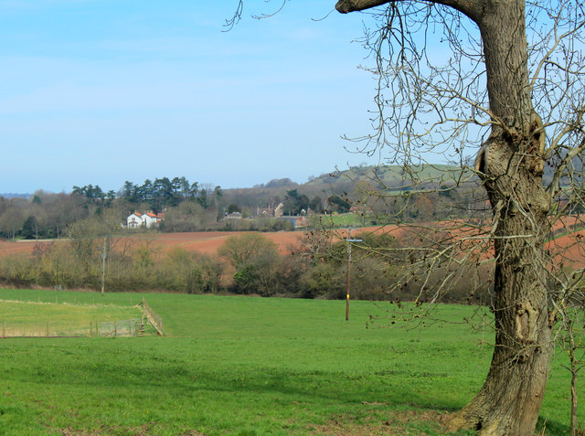2012 : North east from Sutton Hill