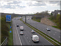 SD7931 : M65 Motorway by David Dixon