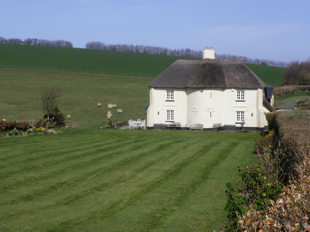 Thatched house, near Kersham Hill