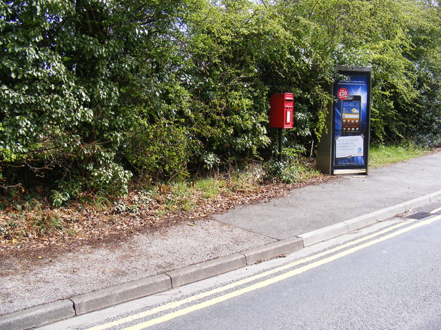Telephone Box & Humber  Doucy Lane Postbox